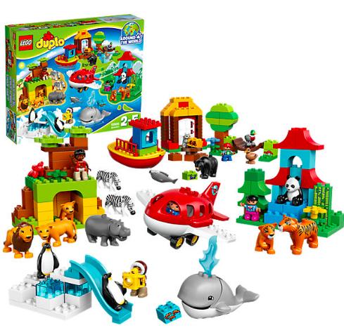 20% Rabatt auf Baby- & Kleinkindspielzeug (z.B. Lego DUPLO) bei [MyToys] z.B. Lego DUPLO 10805 Einmal um die Welt für 55,54€ statt ca. 72€