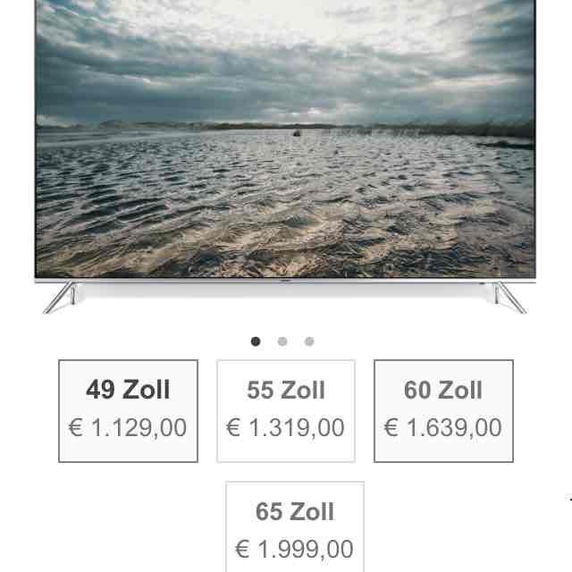 """Samsung UE7090 in 49"""" 55"""" und 65"""" EU-Gerät"""