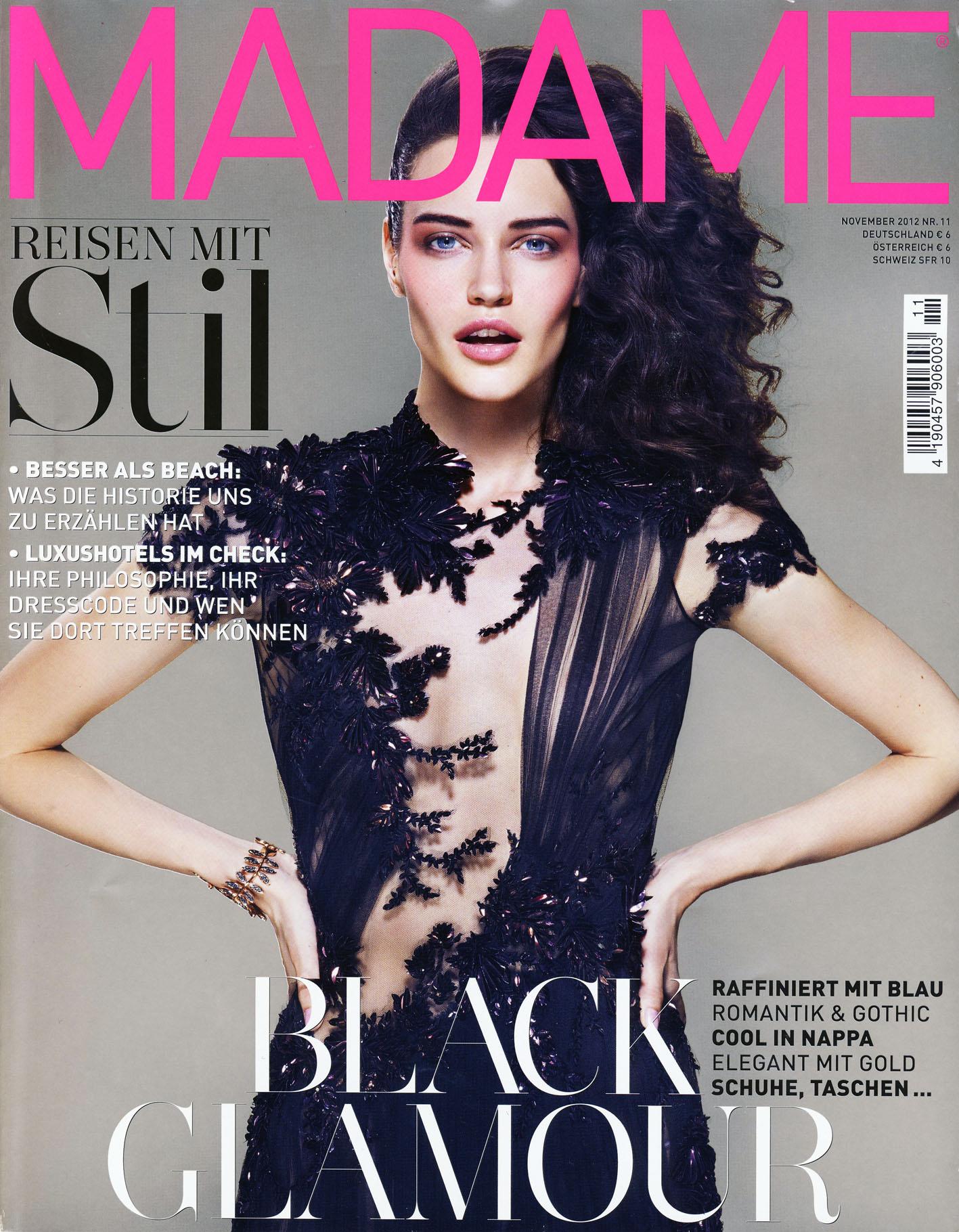 MADAME - 4 Ausgaben des Fashion-Magazin für 3€ (statt 6€ pro Ausgabe) durch 15€ Zalando-Gutschein