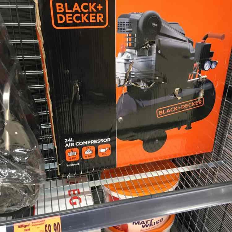 [LOKAL kaufland hattingen] Black+Decker Kompressor