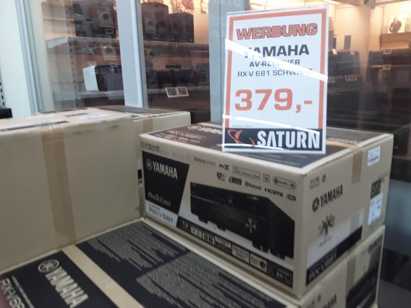 [Hamburg Saturn] Yamaha RX-V 681