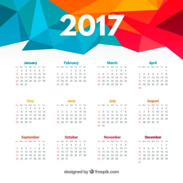 Kalender 2017 Sammel-Freebie +++ Wand-, Monats-, Taschen-, Scheckkartenkalender von diversen Anbietern