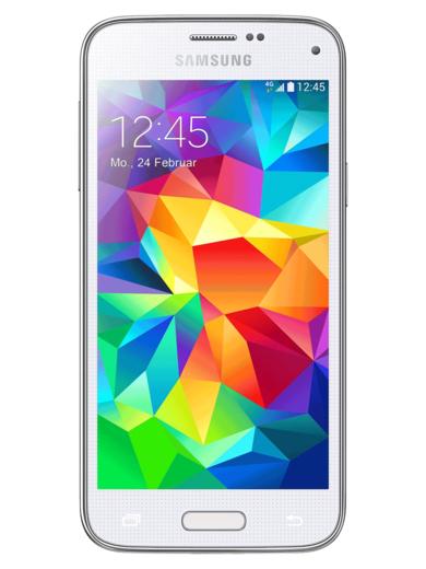 [mobilcom debitel] Samsung Galaxy S5 mini schwarz/weiß