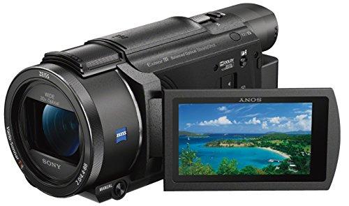 Sony FDR-AX53 Ultra HD Camcorder (20-fach optischer Zoom, 5-Achsen BOSS Bildstabilisation, NFC) schwarz