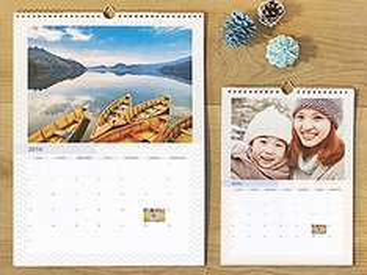 Wandkalender A3 für 9,56€ + 4,90€Versand (2 Stück=26,02€)@photobox.de