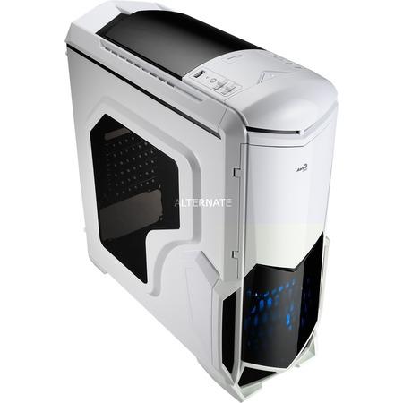 """[ZACKZACK] Aerocool MidiTower """"BattleHawk"""" (weiß/Window-Kit) PC-Gehäuse"""