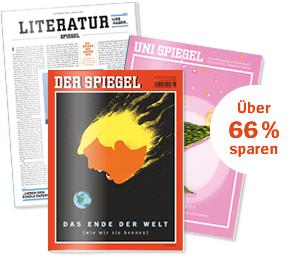 12x SPIEGEL plus Unispiegel und Literaturspiegel für Studenten für effektiv 4,90€