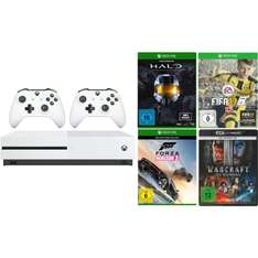 [eBay/MM] Xbox One S Sparpaket 2nd Controller Fifa 17 [Download] Forza Horizen 3 Halo Warcraft the Beginning