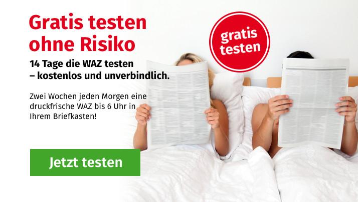 WAZ (Westdeutsche Allgemeine Zeitung) 14 Tage gratis lesen