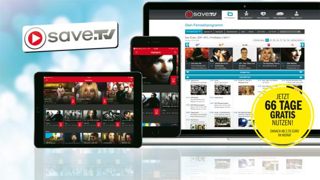 66 Tage kostenlos save.tv xl - Computerbild Aktion