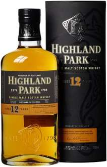 Amazon Highland Park 12 Jahre Single Malt Scotch Whisky (1 x 0.7 l) 26,99€