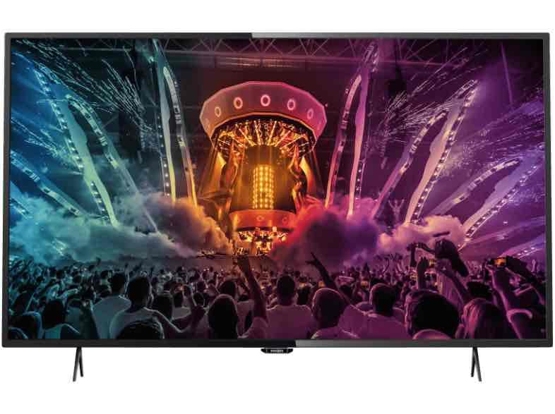 [SATURN] PHILIPS 55PUS6101/12, 139 CM (55 ZOLL), UHD 4K, SMART TV, LED TV, DVB-T2 (H.265), DVB-S2
