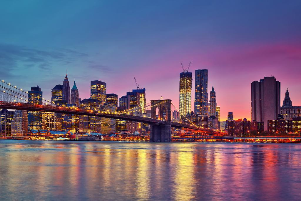 Hin und Rücklflug Stockholm - New York