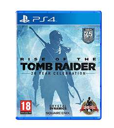 [Amazon UK] Rise of the Tomb Raider: 20-jähriges Jubiläum - Day One Edition (PS4)