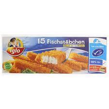 Iglo Fischstäbchen am Samstag 26.05.2012 bei Lidl