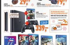 (Offline) SONY PlayStation 4 Konsole Slim 1TB + Call of Duty + 2 Controller