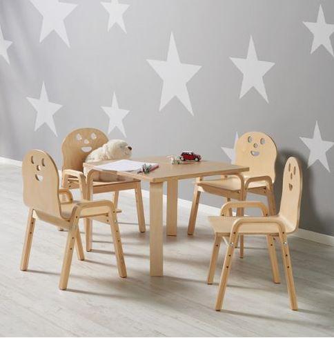 MÖMAX Kindertisch Sunny + 4 Stühle um 62,45.-