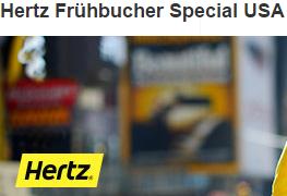 ADAC - Hertz Frühbucher Special USA | Bis zu 25% Rabatt auf Mietwagen