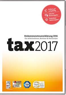 Tax 2017 - Download oder als CD