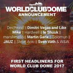 World Club Dome 2017 Club Ticket für 111,08 €