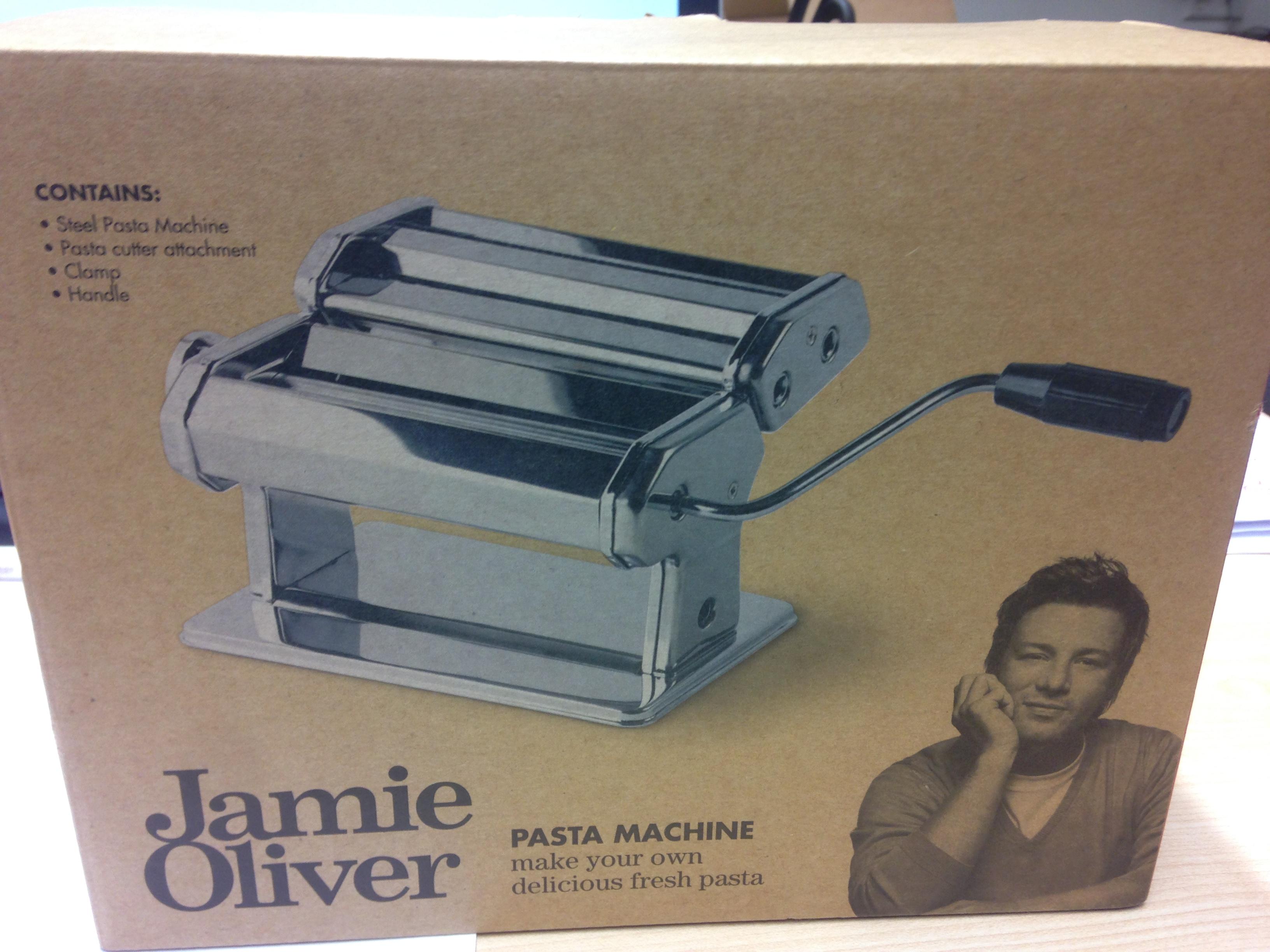 Jamie Oliver Pastamaschine 2.0 [REAL, Bundesweit] 15,00€ statt 39,95€