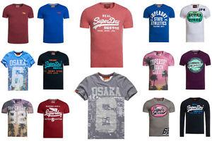 Neue Herren Superdry T-Shirts * Versch. Modelle und Farben verfügbar * eBay WOW