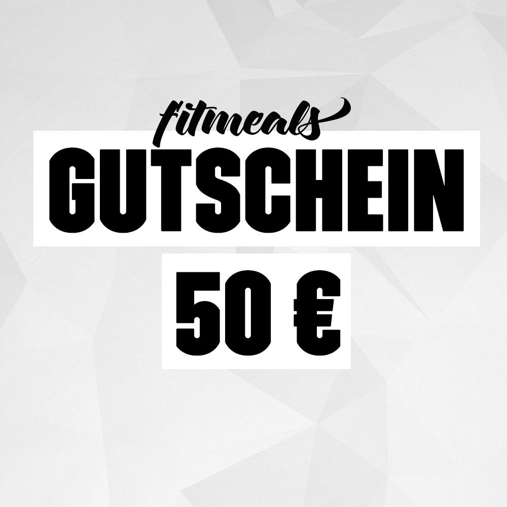 50,- € Fitmeals Gutschein für 40,50 €