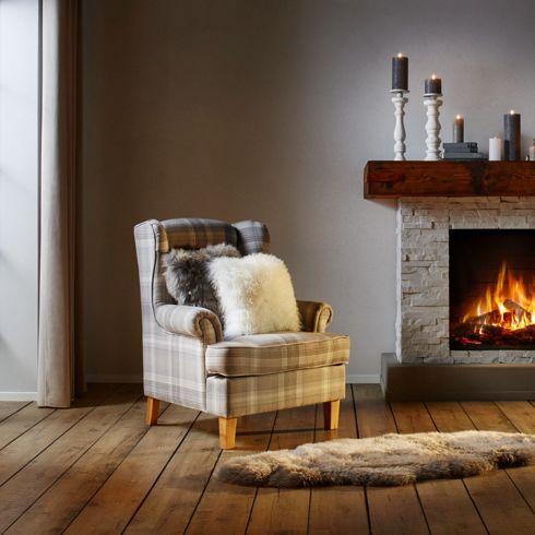 Fernsehsessel Toby in Hellgrau aus Holz 79 Euro inklusive Versand