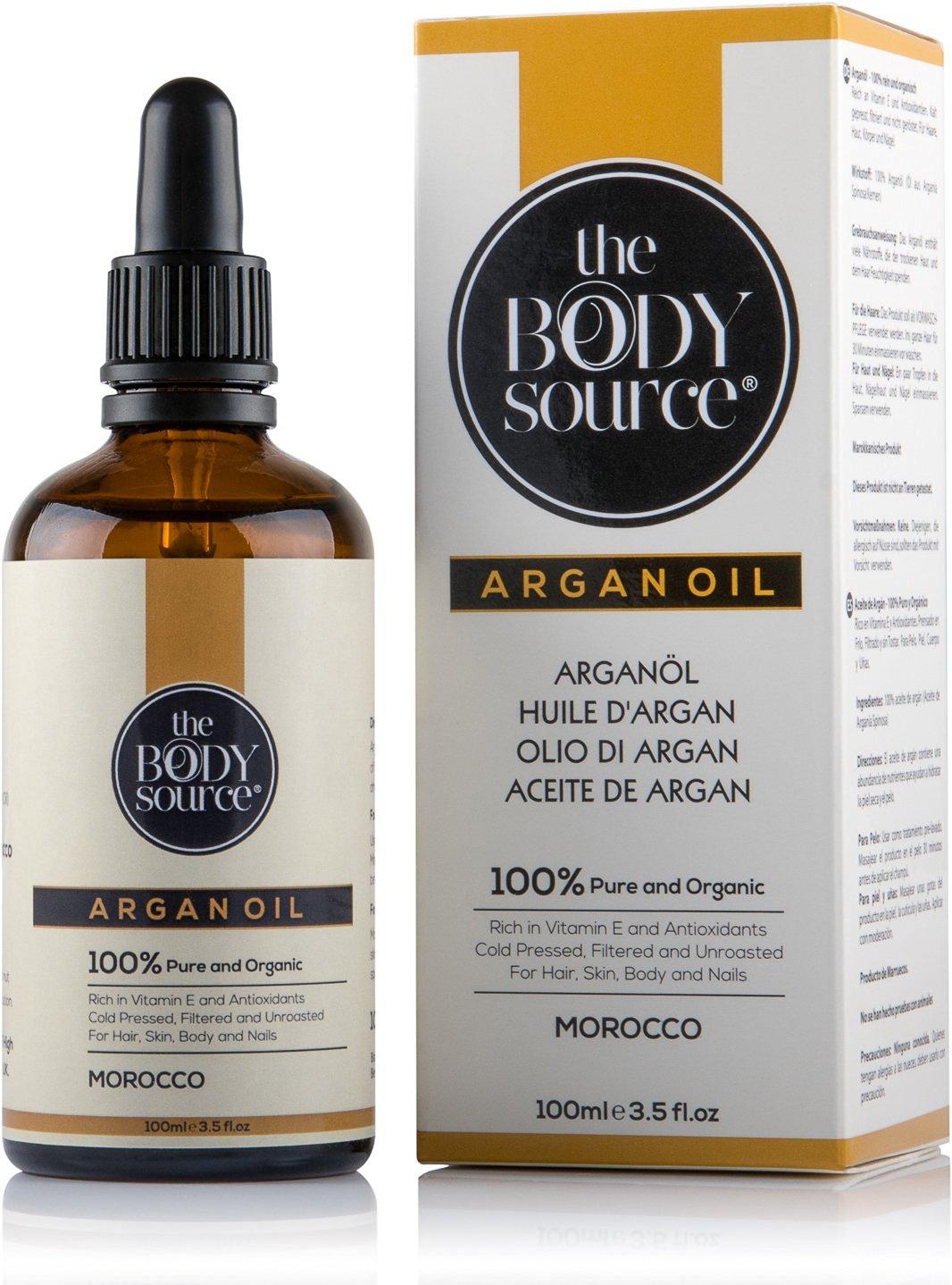 Reines Arganöl 100ml. 100% kalt gepresst und zertifiziert biologisch für...