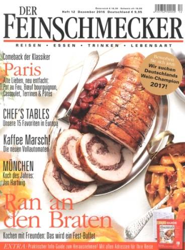 Ran an den Braten: Feinschmecker Magazin 3 Ausgaben lang für effektiv 1,05€ erhalten durch 30€ Zalando-Gutschein