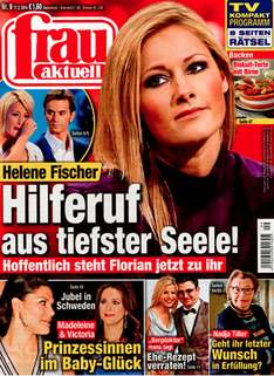 """1 Jahr """"Frau Aktuell"""" (52 Ausgaben) mit eff. 3,80€ Gewinn mit 100€-Zalando Gutschein"""