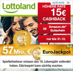 Lottoland Neukunden 10€ Gewinn +5€ Amazon Gutschein