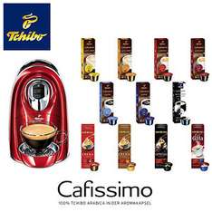 Tchibo Cafissimo Compact Kapselmaschine inklusive 110 Kapseln @ebay