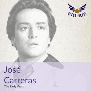 "[Opera Depot] José Carreras ""The Early Years"" - Querschnitt als Gratis-Download"