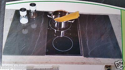 (Kaufland bundesweit) Herdabdeckplatten von Kesper (Glas/Schieferoptik) schnittfest und dekorativ