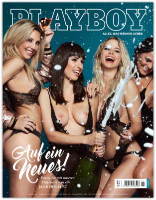(playboy.de) Jahresabo des Playboys + 1 Ausgabe Gratis bei Bankeinzug mit 60€ Verrechnungsscheck  für effektiv 15€