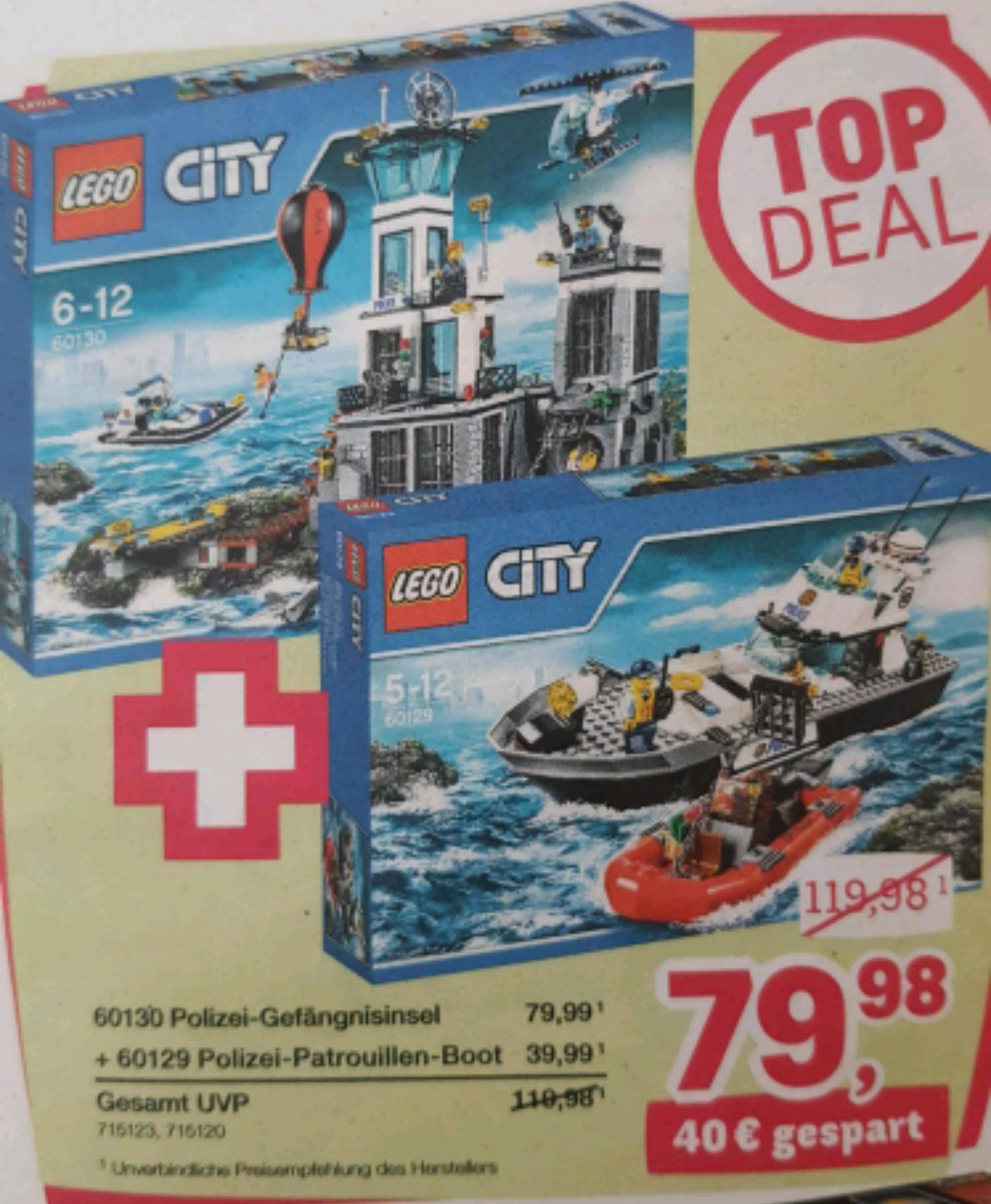 [ToysRus] 2er-Set Lego City Polizei 'TopDeal'