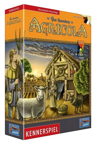 Agricola • Überarbeitete Neuauflage 2016 • BoardGameGeek #11 [thalia.de] [nochmal günstiger!]