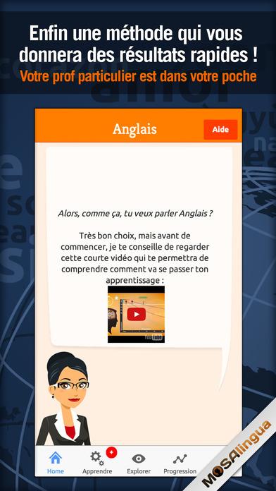 Business Englisch sprechen lernen mit MosaLingua (iOS) für 0,99€ statt 5,99€