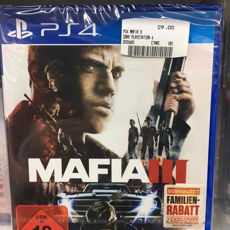 [MM Main Taunus Zentrum] Mafia 3 PS4
