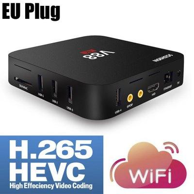 SCISHION V88 TV Box Rockchip 3229 Quad Core  -  EU PLUG  BLACK 1
