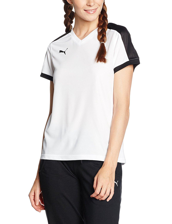 @Amazon Plus Puma Damen Indoor Court T-Shirt