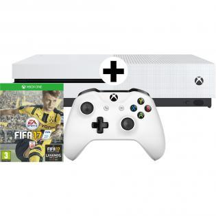 Microsoft Xbox One S 1 TB + FIFA 17 Bundle Spielkonsole bei Redcoon