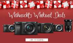 Weihnachts Weekend Deals: Sony Alpha 6300 Body für 999,- | Alpha 6300 Kit 16-50 für 1149,-