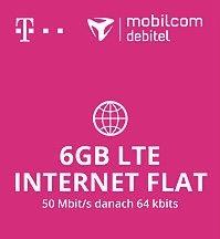 [Logitel.de] Telekom / Mobilcom Internetflat 3GB LTE nur 6,99€ 6GB nur 9,99€