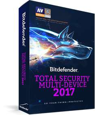 Bitdefender Total Security Multi-Device 2017 10 Geräte für 3 Jahre