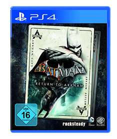 Batman: Return to Arkham (PS4 & Xbox One) für 29,97€ inkl. VSK (Amazon.de)