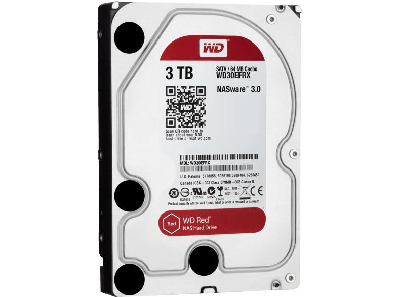 WD Red™ BULK, Interne Festplatte, 3 TB, 3.5 Zoll bei MM für 95€