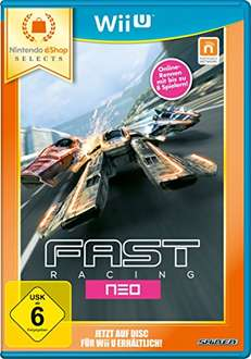 [amazon.de Prime] FAST Racing NEO Nintendo oder SteamWorld Collection Nintendo- eshop selects [Wii U] für je 9,97€