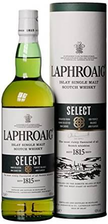 [Amazon Prime] Günstige Laphroaig Single Malt Whisky z.B. Laphroaig SELECT (0.7 l) für 22.99€ oder 2x Quarter Cask für 43,95€